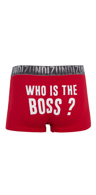 Boxer rouge boxixiz red.