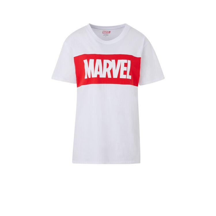 T-shirt z nadrukiem marvel skatwiz;