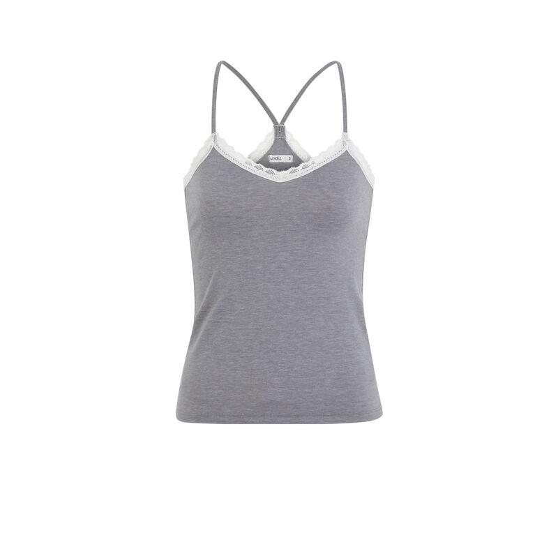 Vitamiz jersey top with thin straps;