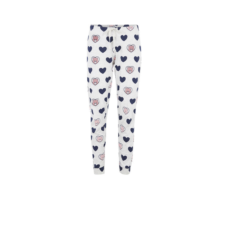 Bisousiz Care Bears pants with heart print;