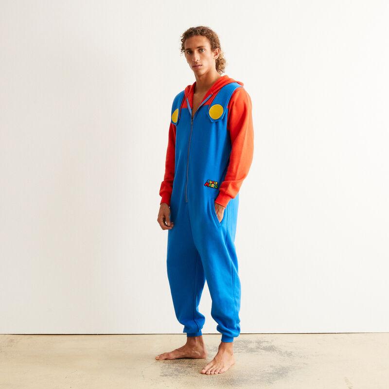Mario jumpsuit - blue;