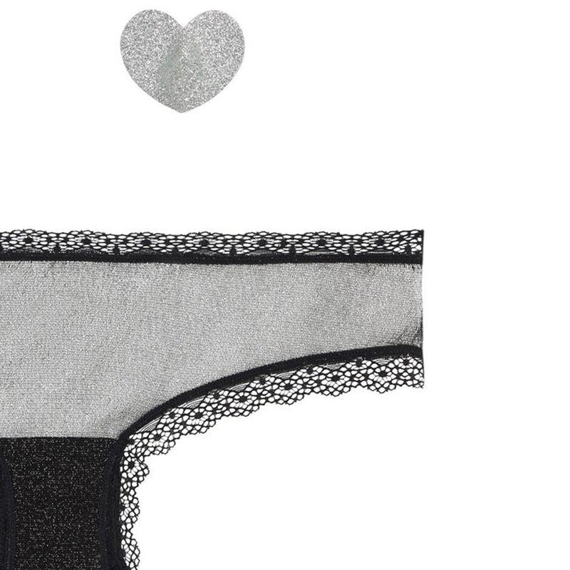 Zestaw majtki + osłony na sutki lipsiz;