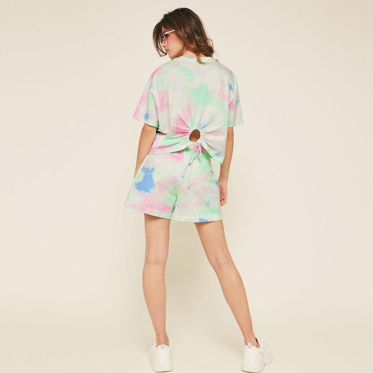 Thanknextiz multicoloured shorts;