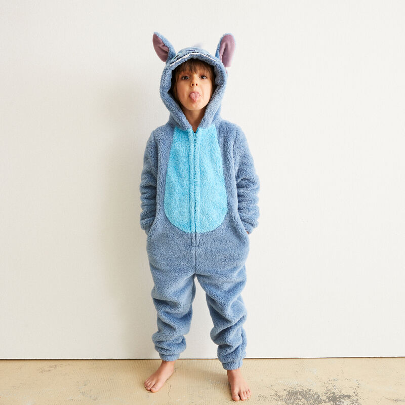 Stitch kids' onesie - blue;