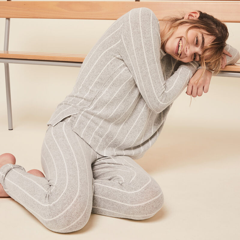 Quodistripiz striped pants;