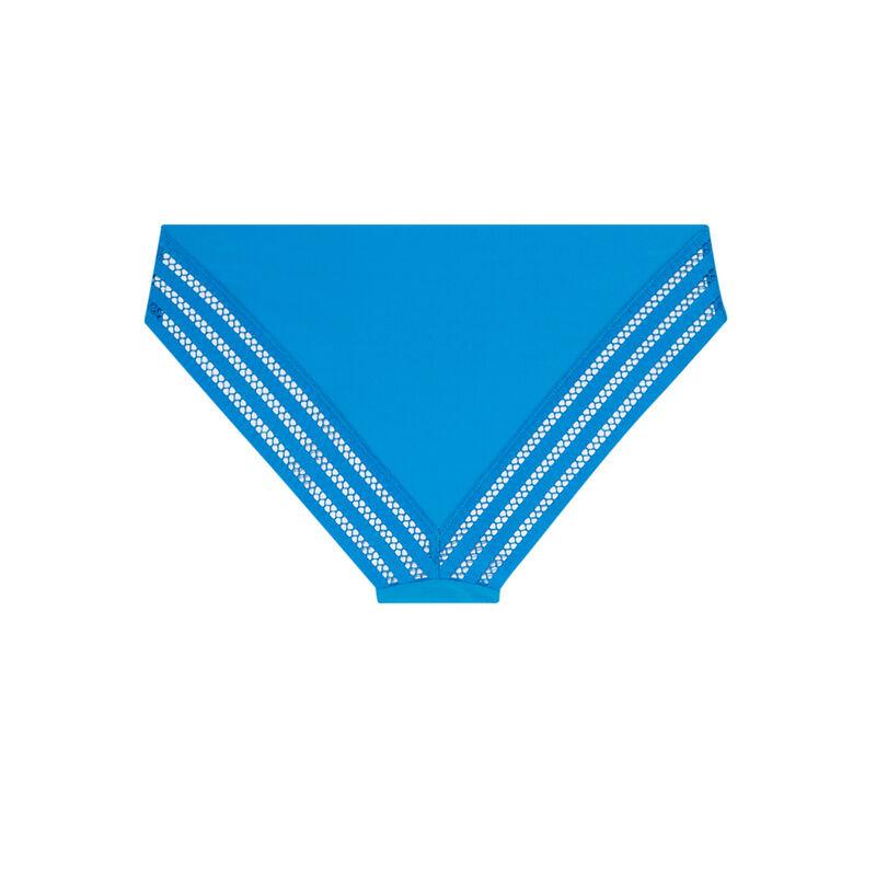 microfibre plain briefs - blue;