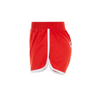 Califiz red shorts red.