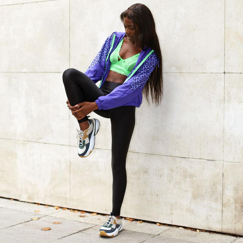 Plain Lycra leggings - black ;