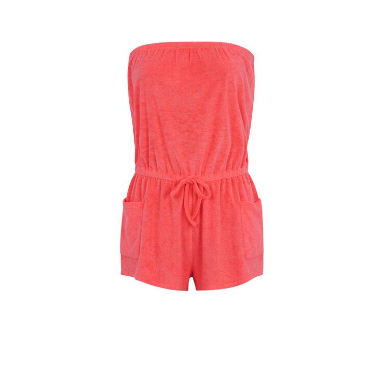 Flipperiz fluorescent pink suit;