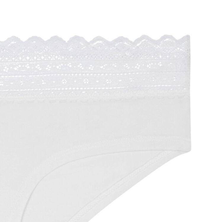 Szorty w kolorze złamanej bieli waistiz;