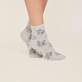 Серые носки lapiliz grey.
