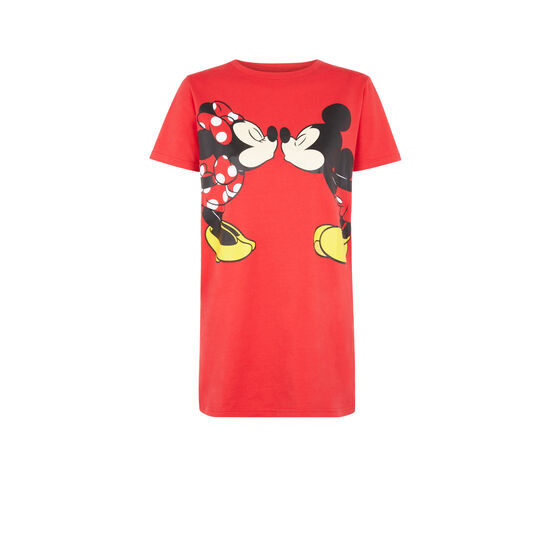 Kismickiz red tunic T-shirt;