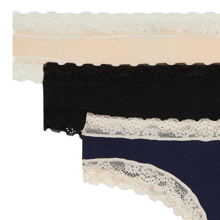 Zestaw 3 szortów bawełnianych gładkie new skinny;