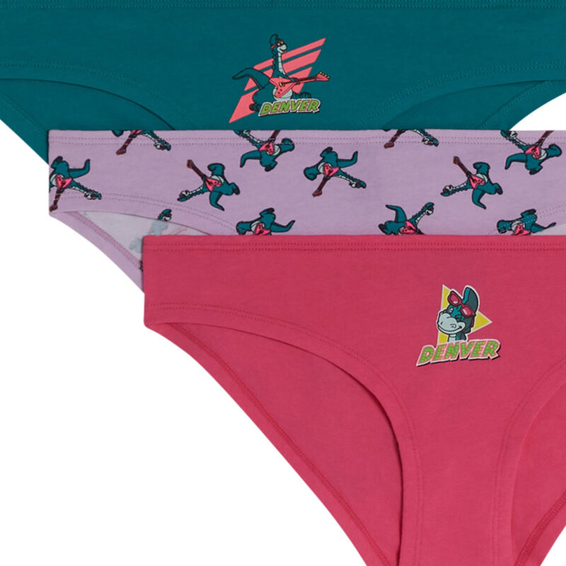 Denveraliz pack of cotton knickers;