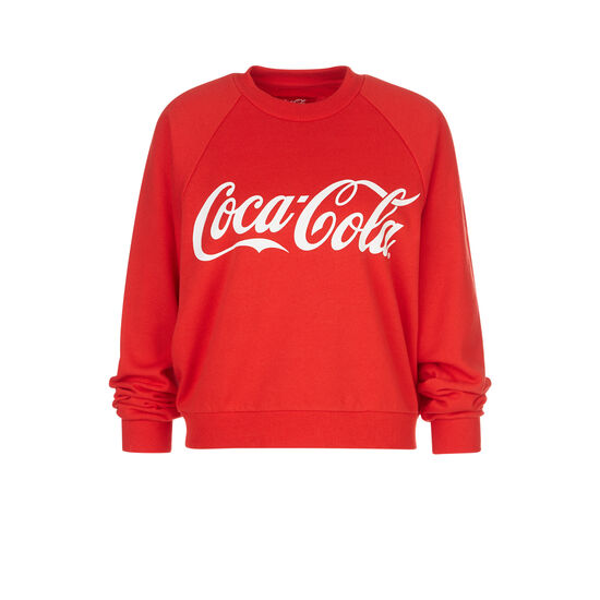 8f8325b70ddb3b Sweat rouge cocacoliz - Undiz