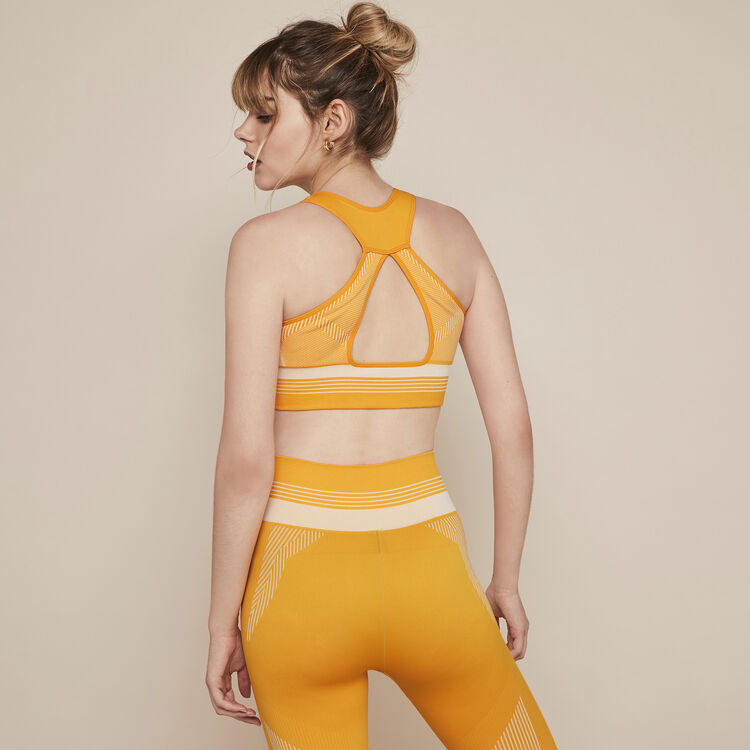 Seamblockiz seamless sports bra;