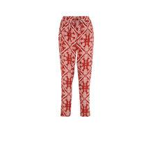 Кирпично-красные брюки juleiz rood.