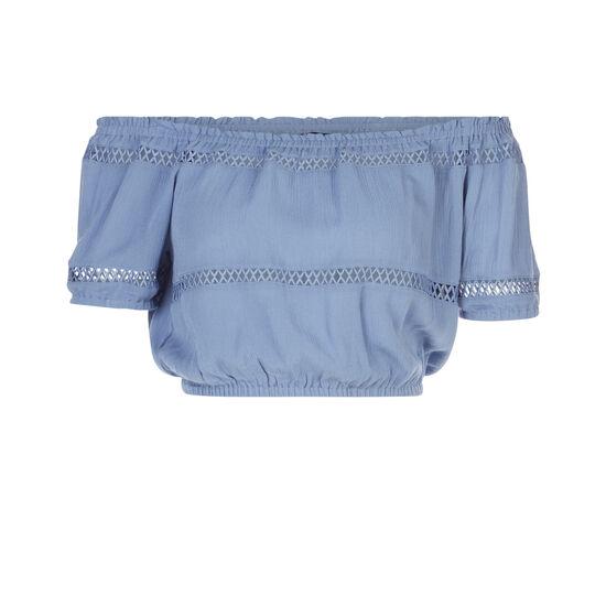 Lilopopiz grey blue top;