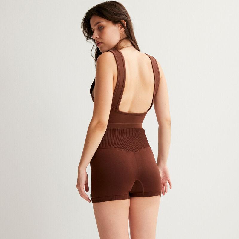 Short cycling shorts - brown;