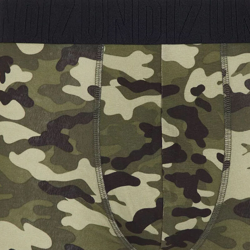 Camokakiz cotton boxers with camouflage print ;