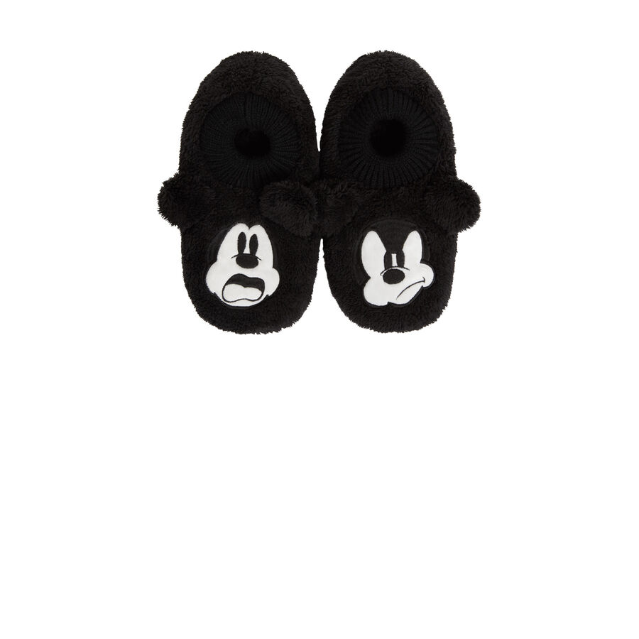 Fouliz black slippers ;