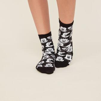 Черные носки snowiz black.