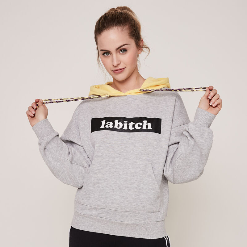 Labitchiz hooded sweatshirt;