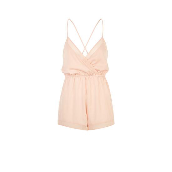 Backliz pale pink onesie;
