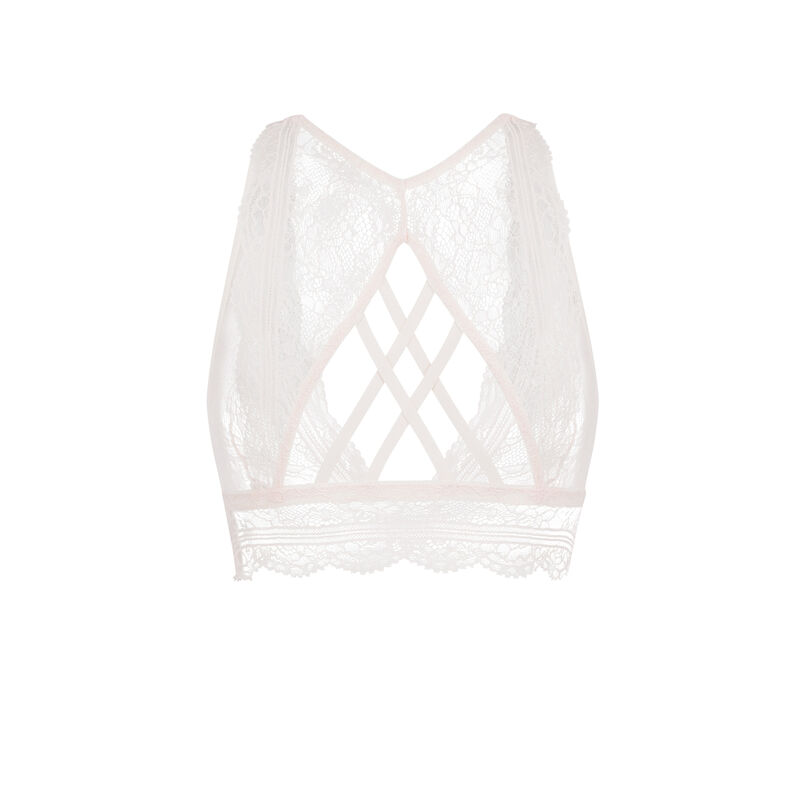 Everydayiz powder pink bralette;