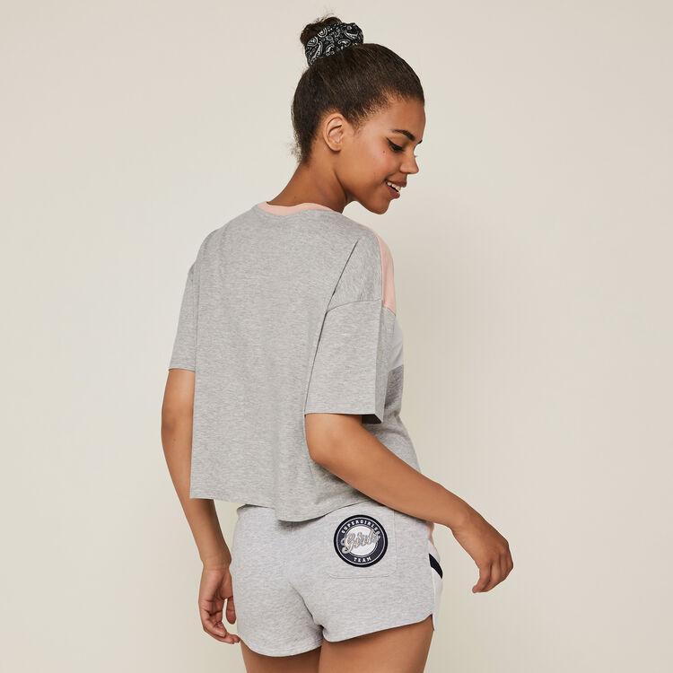 Relouiz fleece shorts;