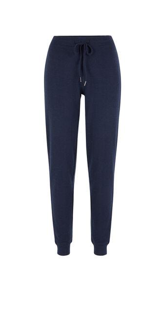 Blue quodiz pants blue.
