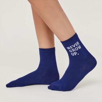 Nevergrowiz blue socks niebieski.