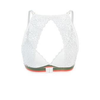 Бюстгальтер с треугольными чашками dynastiz white.