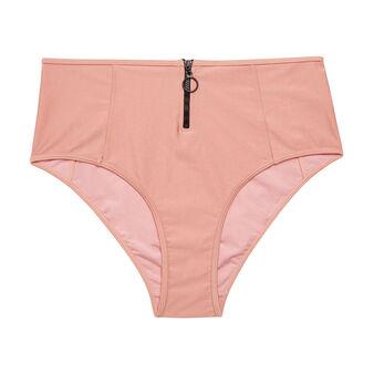 Flashiz light pink high-waisted underwear pink.