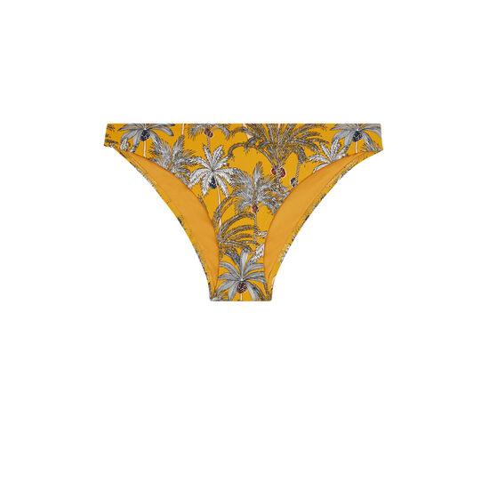 Senfgelber Bikini-Slip Teneriz;