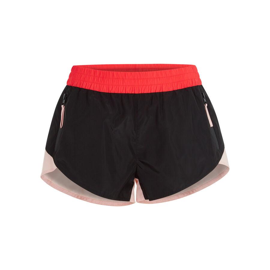Nudiz black shorts ;