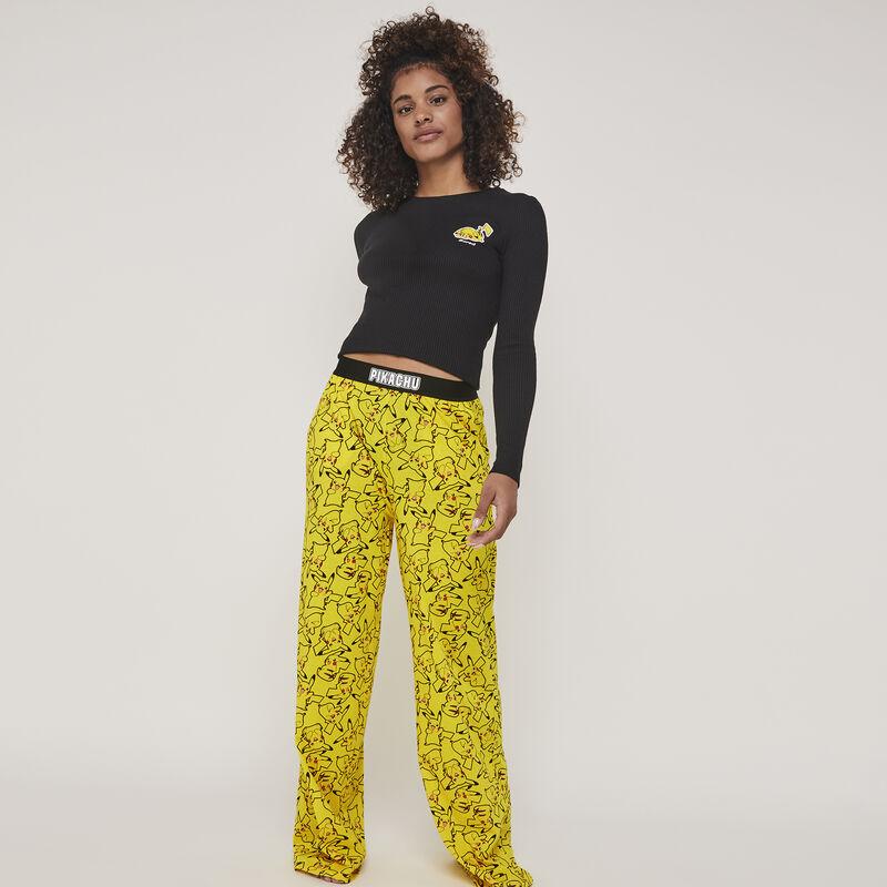 Pikaballiz Pikachu jersey print pants;