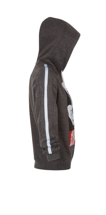 Mickebiz dark grey sweatshirt grey.