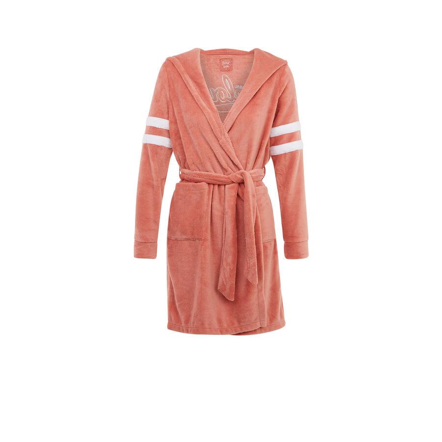 Розовый халат emfilliz;