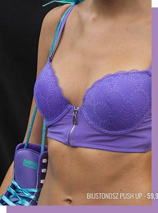 soutien-gorge violet